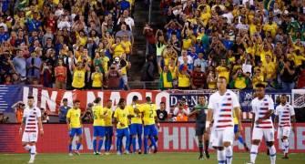Brasil gana 2 a 0 a Estados Unidos