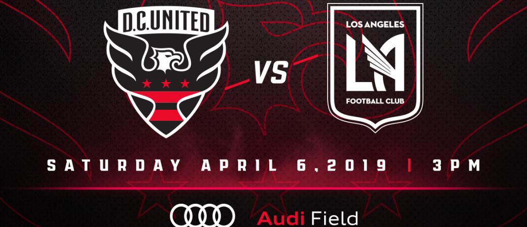 D.C. United recibe a Los Angeles FC